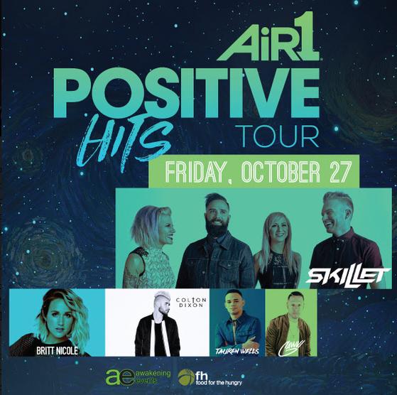 Positive Hits Tour Skillet
