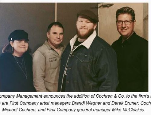 Artist News: FIRST COMPANY MANAGEMENT WELCOMES COCHREN & CO.