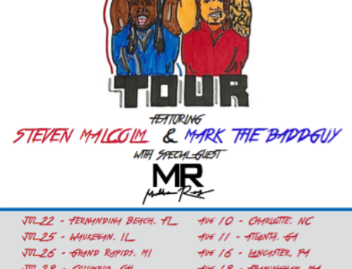 "Tour News: HIP-HOP ARTIST STEVEN MALCOLM TO EMBARK ON SUMMERTIME 2019 ""TAG TEAM TOUR"""