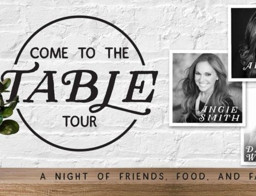 "Tour News: Bestselling Authors Angie Smith, Danielle Walker and Annie F. Downs To Reconvene For ""Come To Table Tour"" This September"