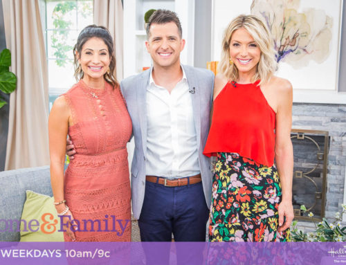 TV News: 'DAD TIRED' AUTHOR JERRAD LOPES FEATURED ON HALLMARK'S 'HOME & FAMILY