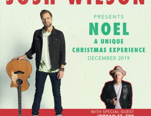 Tour News: Josh Wilson Announces NOEL Christmas Tour